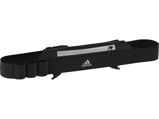 adidas Hardloopriem Heren, black/black/reflective